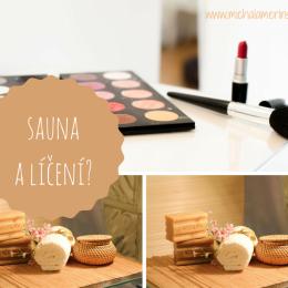 sauna a líčení